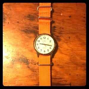Timex Unisex Watch with Jack Spade Band